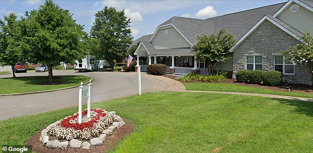 The Elmcroft assisted living facility in Lebanon, Tennessee, pictured, has also changed all of the combinations on its exit doors as a result of the episode