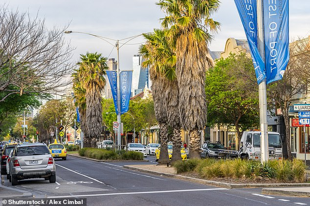 Cars will not be allowed to drive down Bay Street between Beach and Graham streets, in Port Melbourne, when it is closed on Monday night