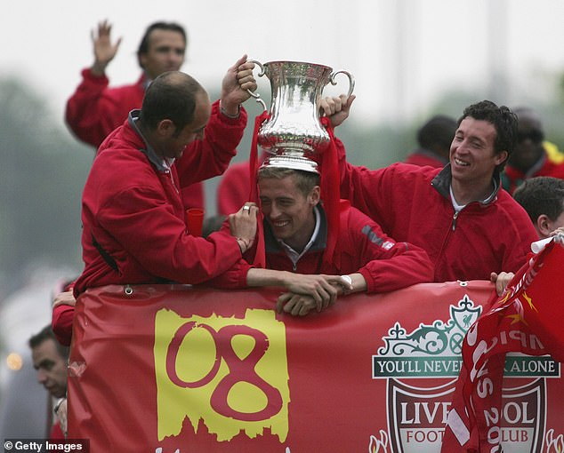 The former Liverpool striker also had his say on lifting a trophy in a stadium with no supporters