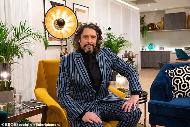 Making a comeback: Laurence Llewelyn-Bowen will also return to the show, which he starred in during its run on the BBC from 1996 to 2004