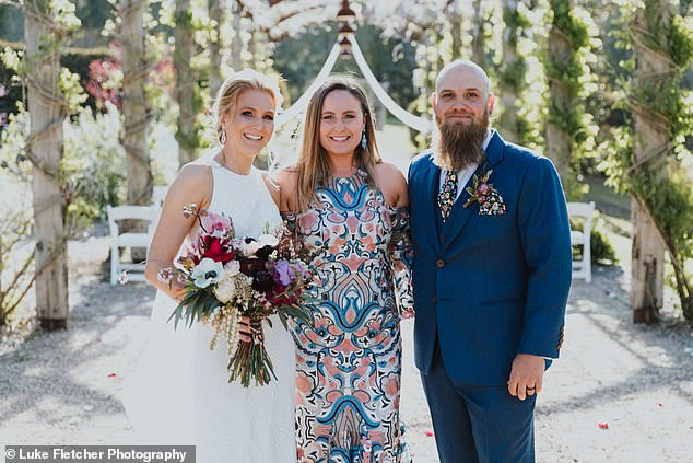 'Sometimes I've been hired when there are five groomsmen, but only four bridesmaids,' Kerstyn (pictured) said, adding that people like her presence to make things equal