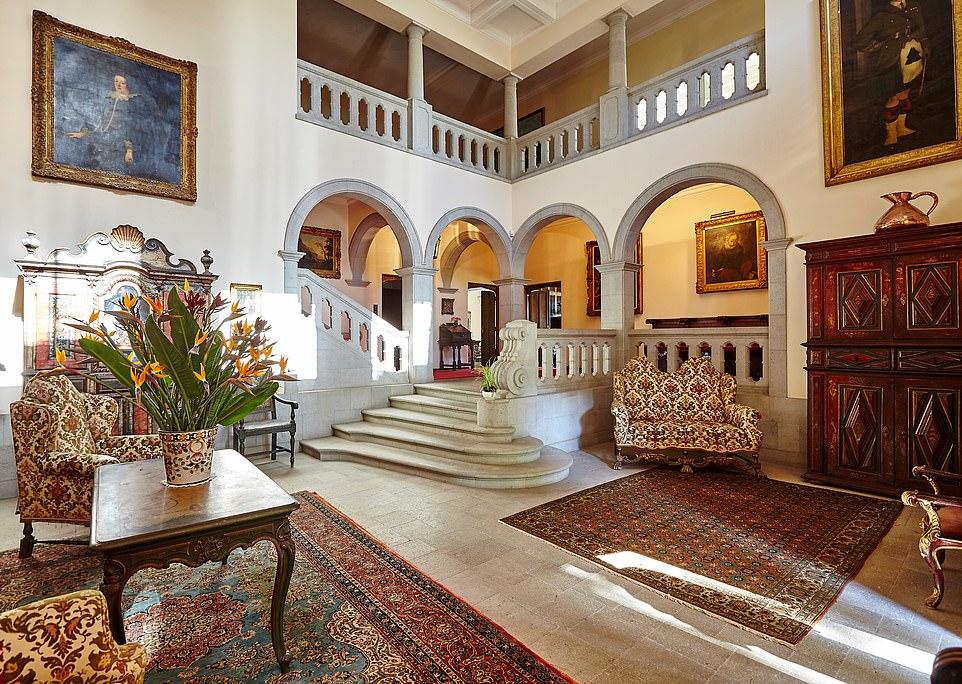 Oasis: Inside Quinta da Casa Branca, where light spacious rooms open directly on to the garden