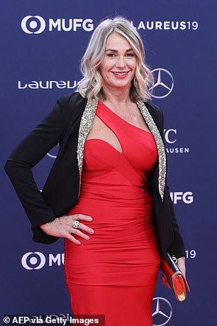 Nadia Comaneci in 2019