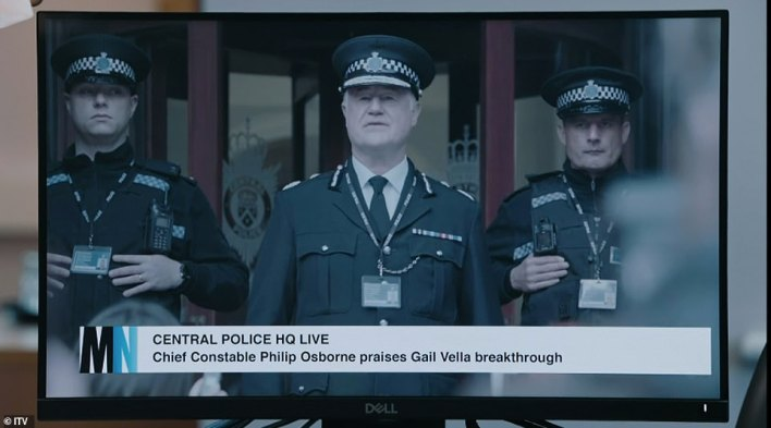 Should we trust him? It's possible that Chief Constable Osborne could be involved in the OCG have openly dismissed any claims of corruption on the force, even after AC-12 discovered H's identity