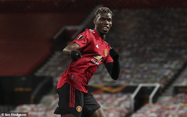 Paul Pogba has joked Manchester United should bench him after being read some statistics