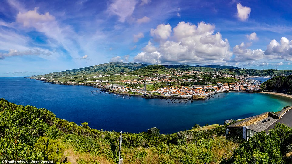 On a 14-night walking holiday withHF Holidays, you can take in five of the Azores islands, including Faial, pictured, known as the blue isle