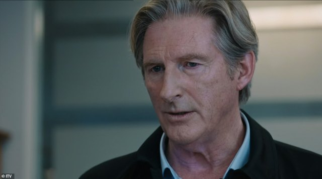 Adrian Dunbar's powerful 'mug' delivery was a nod to previous series