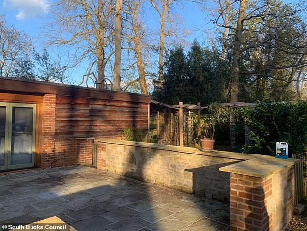 Last year, the bungalow's owners Timberstone Ltd applied for a retrospective certificate of lawfulness so that the house would be legally recognised, but the council rejected it