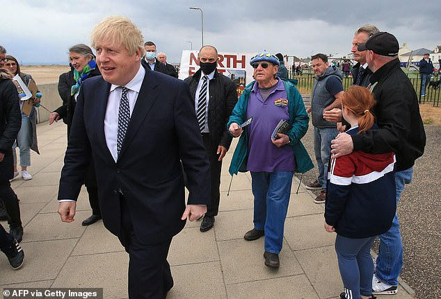 On a visit to Hartlepool today, Boris Johnson poured cold water on holidays hopes, warning putting lots of countries on the travel 'green list' from May 17 could risk an 'influx of disease'