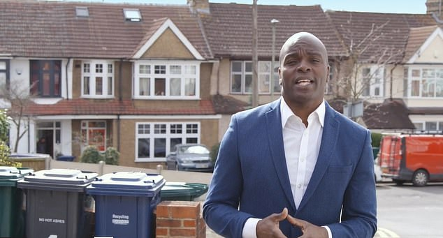Tory candidate Shaun Bailey launched an attack on the Labour incumbent's record on crime in the capital in a new election broadcast.