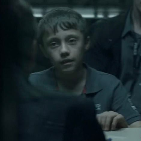 In series one, Buckells promised Ryan Pilkington (pictured) a Big Mac while grilling the young criminal