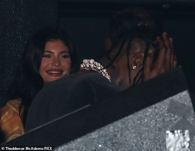 Heating up:The two later partied it up together for his birthday celebration at hotspot LIV nightclub where the were seen in a romantic embrace in the dancefloor