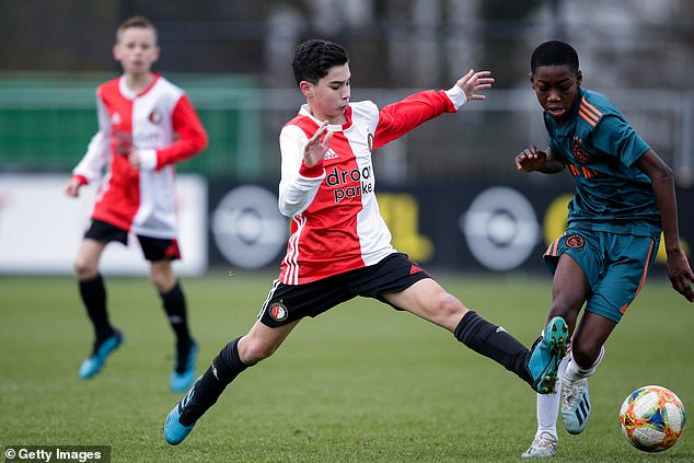 Shaqueel currently plays for Feyenoord's U-15s but has been tipped to shortly take a step up