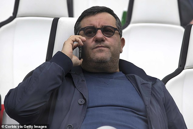 The murmurings of his agent Mino Raiola mean his Red Devils future remains unclear though
