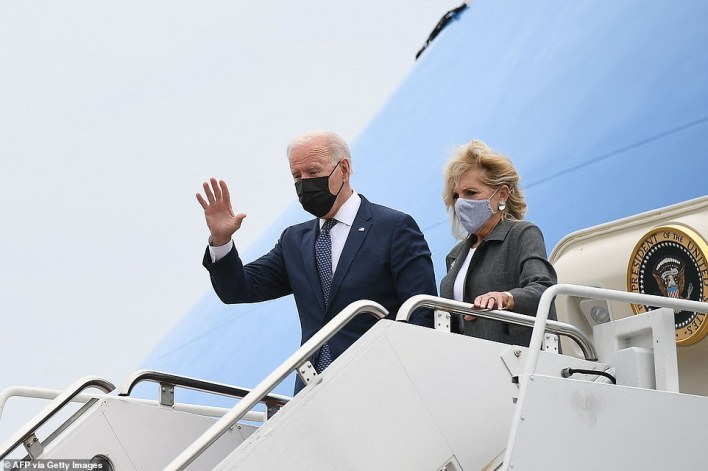 Later this week, Jill Biden will head to the West Coast and Joe Biden goes to New Orleans
