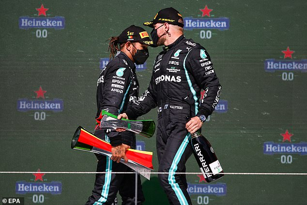 The Finn is 37 points behind Mercedes team-mate Lewis Hamilton after three races