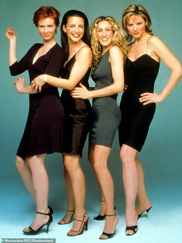 Original line up: Cynthia Nixon, Kristin Davis and Sarah Jessica Parker will not be joined by Kim Cattrall in the revival of their hit show