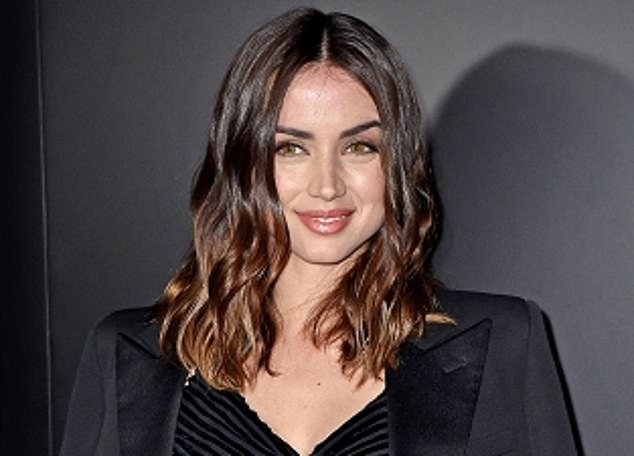Estee Lauder which counts Bond girl Ana de Armas (pictured) as the face of its flagship brand, said demand for make-up was weak as consumers have been stuck at home during lockdowns