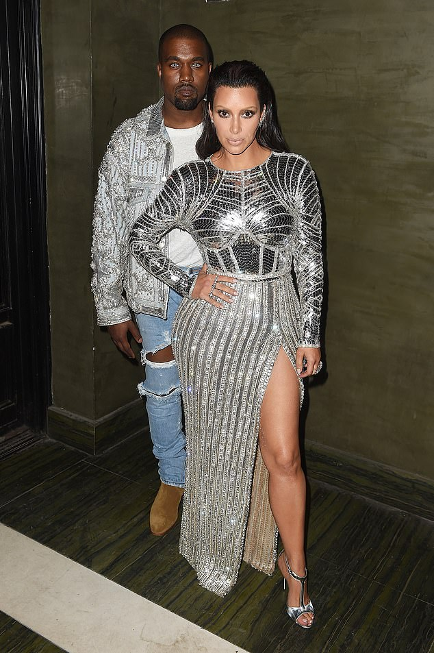 The powerful couple are no longer: News of Kim and Kanye's split broke on February 19, when it was reported that Kim had officially filed for divorce.  They are seen here in 2016