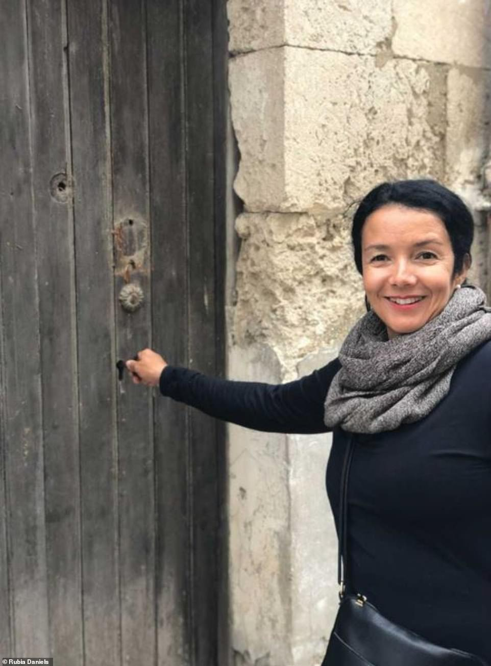 Score!Solar consultant and business owner Rubia Daniels was one of the first to buy a bargain-priced house in Mussomeli, Sicily, in the spring of 2019