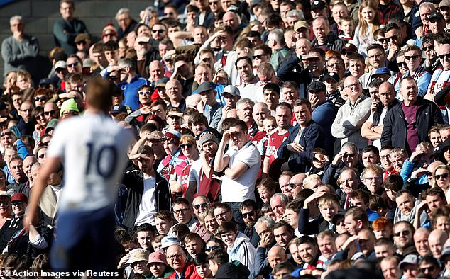 There are concerns that some clubs will struggle to fit in the number of fans allowed to return