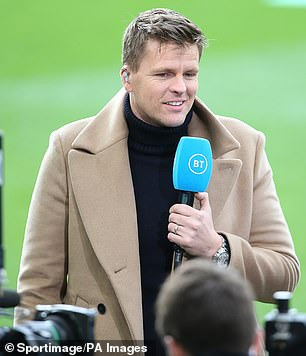 Jake Humphrey is also involved in a WhatsApp group which sees broadcasters coming together