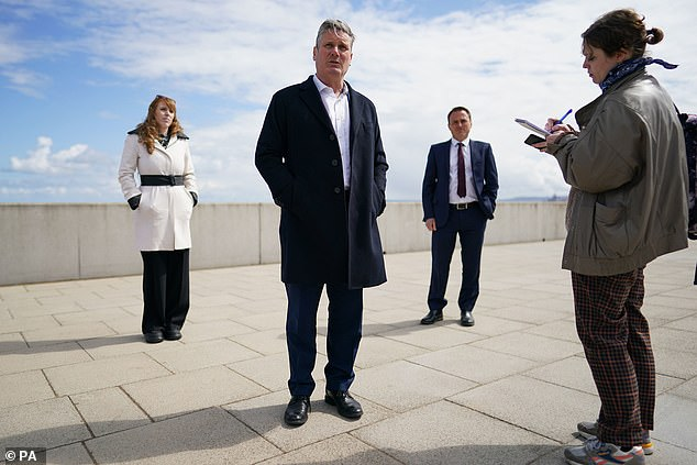 Sir Keir Starmer's Labour will only ever call for even more public expenditure. It appears to have no sense of responsibility to act as a proper Opposition party. Pictured: Starmer