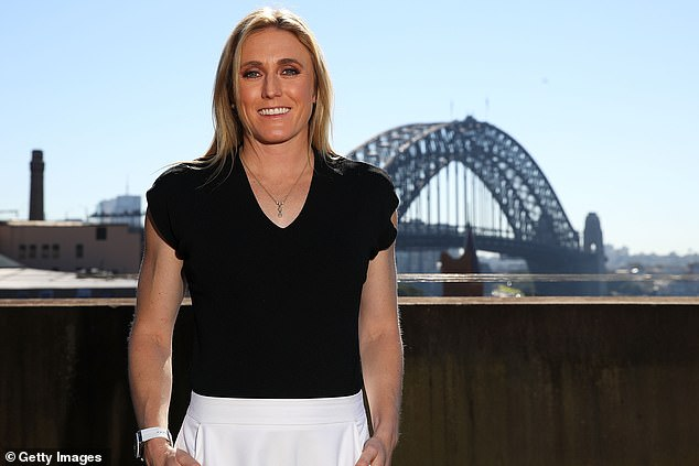 Familiar face: Sally is one of Australia's greatest athletes. The champion 100-metre hurdler retired back in August 2019 due to injury