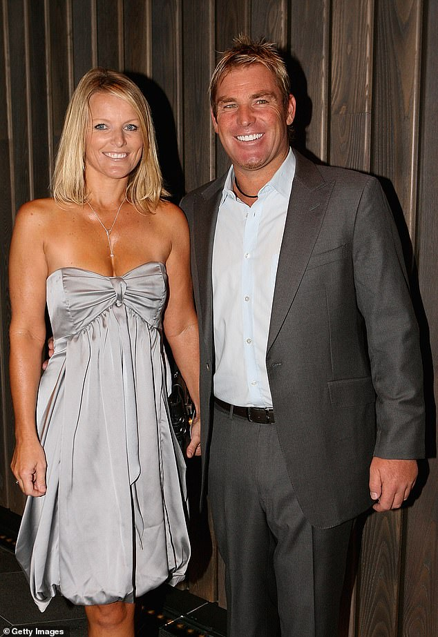 Past: Simone married cricket legend Shane in 1995 but they separated in 2005. They tried to save their marriage but split for good two years later