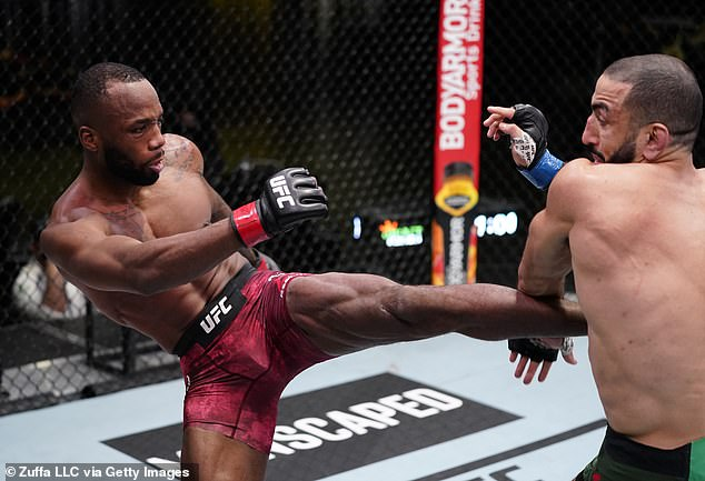 The fan-favourite, 36, was due to take on Britain's Leon Edwards at UFC 262 on May 15