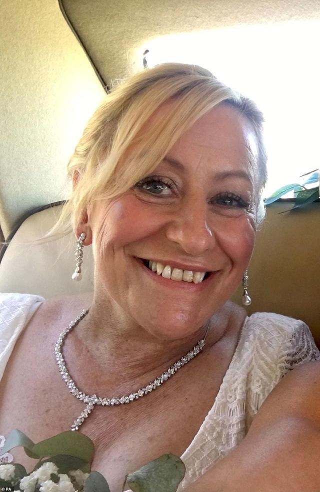 PCSO Julia James in Aylesham, Kent, whose body was discovered at Akholt Wood on Tuesday close to Snowdown