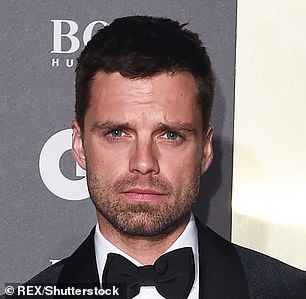 Portrayal: Sebastian Stan (pictured in 2019), who plays the Motley Crüe drummer, Tommy, was not pictured on set