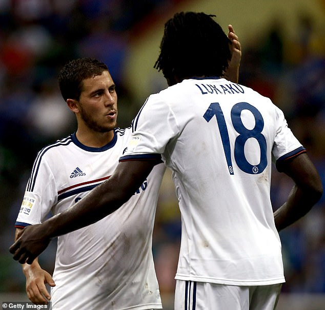 Lukaku (right) claims he 'knows what Eden (left) wants to do' against former club Chelsea