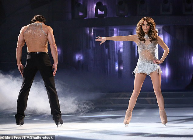 She admitted: `` My first week of ice dancing I weighed just under seven stones.  I couldn't eat anything '