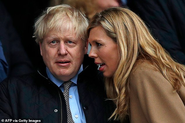 Whispers:Last week, insiders claimed that Strictly bosses are keen to sign 'the most glamorous woman in politics' for this year's show ahead of its autumn launch (Boris and Carrie last year)