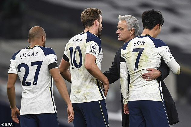 Mourinho was sacked by Tottenham two weeks ago, six days out from the Carabao Cup final