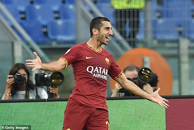 Henrikh Mkhitaryan has scored 11 goals and contributed 11 assists for Roma this season