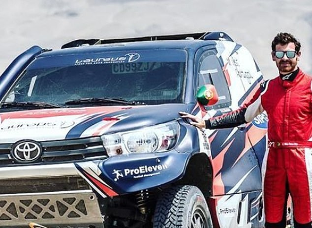 Andre Villas-Boas took part in the 2018 Dakar Rally before crashing out in the third stage