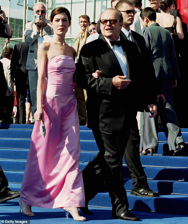 Powerful couple: Boyle dated A Few Good Men actor Nicholson, who is 33 years his senior.  They went public with their romance at the 1999 Emmys and stayed together until the end of 2000. Seen in 2001