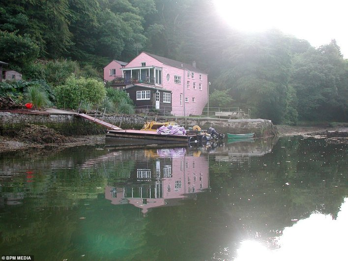 The creekside old Sawmills, formerly known as Sawmills Studio, near Fowey in Cornwall, is being sold with a guide price of £2.25m. It was opened in 1974 as one of the very first residential recording studios in the UK
