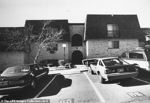 Warmus was having an affair with Betty's husband, Paul Solomon, when she shot her nine times in the victim's family home (pictured above) in Greenburgh, New York on January 15, 1989