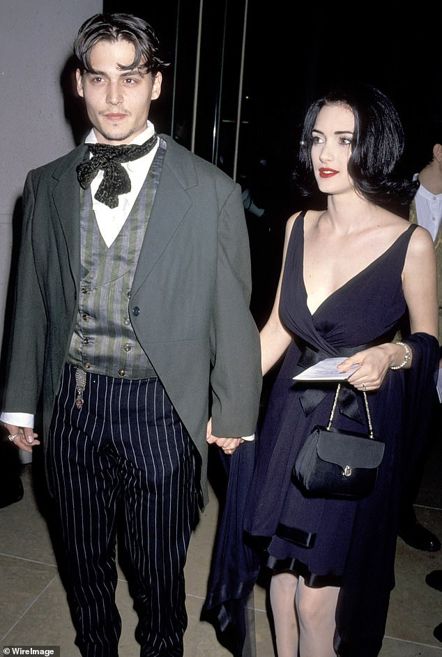 Digging into the past: Johnny Depp is selling a poem he penned for ex-fiancee Winona Ryder as an NFT for charity. The Hollywood actor has teamed up with ViciNFT to auction off various items. Seen in the early Nineties