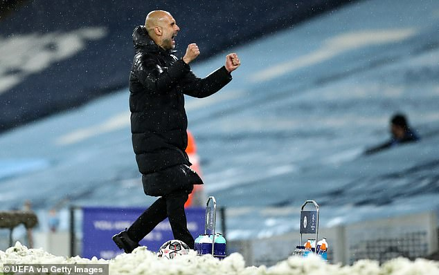 Pep Guardiola has steered Manchester City to their first ever Champions League final