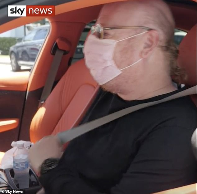 Avram Glazer (pictured) refused to apologise to United fans on Tuesday after being tracked down at his Palm Beach home following the botched European Super League plans