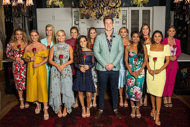 Toll: Last March, Sogand revealed that his experience on the show gave him a `` drinking problem '' and caused him to lose his job as a civil engineer.  Pictured: The 2019 Bachelor cast including contender Matt Agnew