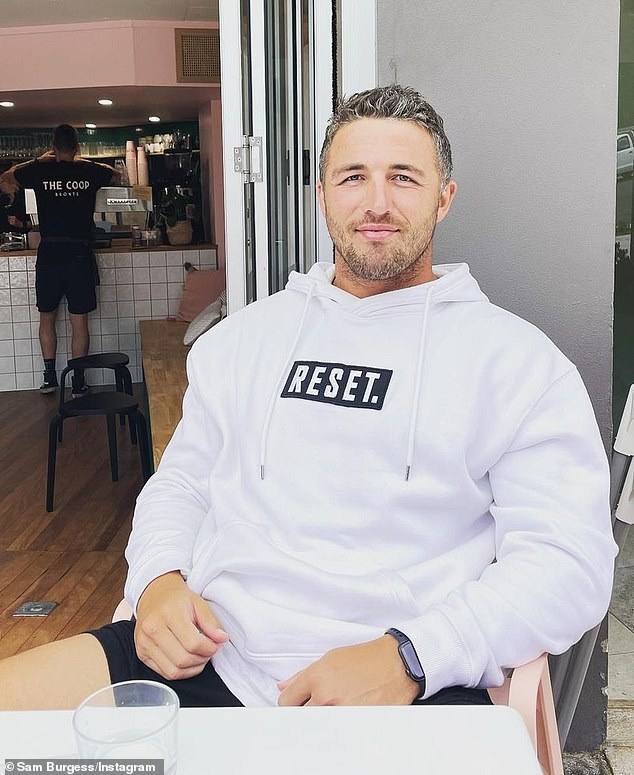 Challenge:Ant also told hosts Kyle Sandilands and Jackie O Henderson that Sam Burgess was 'someone we had to get a grip off'