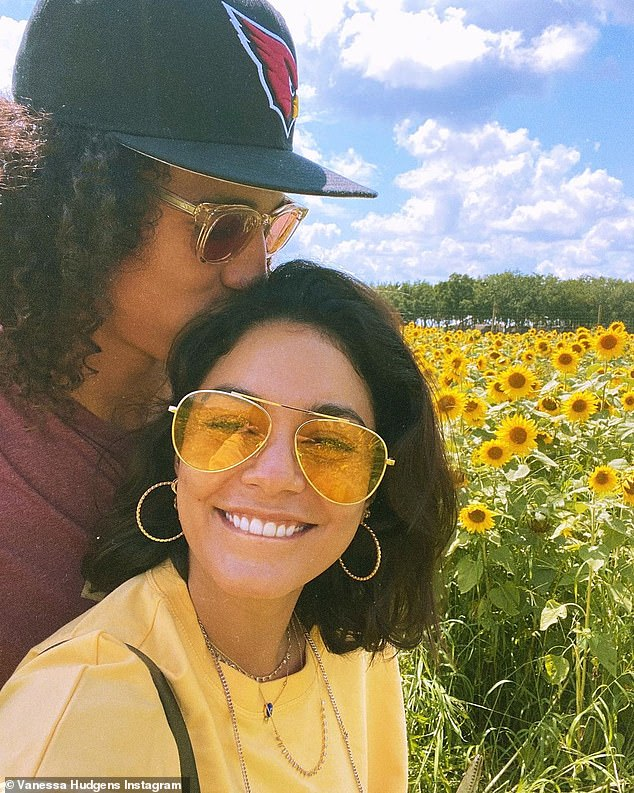 Romantic escapes:The pair went Instagram official with the relationship on Valentine's Day and she spent extended time with him in Florida during spring training before they escaped to Miami to attend the opening of Dave Grutman and Pharrell's Goodtime Hotel; pictured April 22