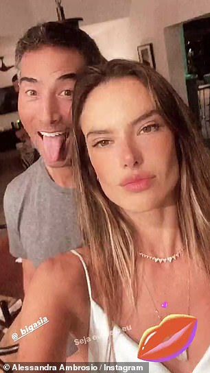 Romance: The beloved couple first went public with their budding romance at the end of February, before going official on Instagram on Easter Sunday