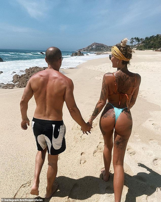Moving on: The relationship comes shortly after she ended her affair with ex Brian Austin Green