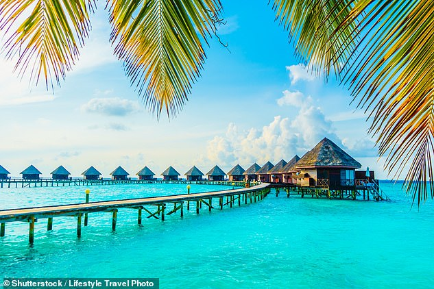Australian cricketers looking to escape India following the suspension of IPL will flee to the Maldives (pictured)or Sri Lanka in the coming days
